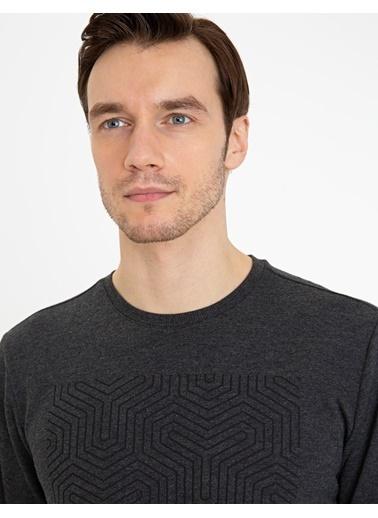 Pierre Cardin Erkek   Sweatshirt G021SZ082.000.1235933.VR081 Antrasit